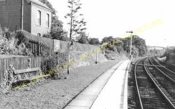Garth Railway Station Photo. Llangammarch Wells- Cilmery. Builth Wells Line (13)