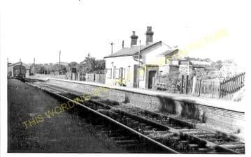 Garth Railway Station Photo. Llangammarch Wells-  Cilmery. Builth Wells Line (2)