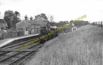 Garth Railway Station Photo. Llangammarch Wells - Cilmery. Builth Wells Line (4)