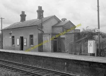 Garth Railway Station Photo. Llangammarch Wells - Cilmery. Builth Wells Line (5)