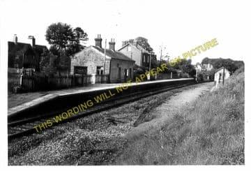 Garth Railway Station Photo. Llangammarch Wells- Cilmery. Builth Wells Line (7)