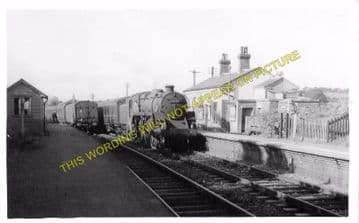 Garth Railway Station Photo. Llangammarch Wells- Cilmery. Builth Wells Line (9)