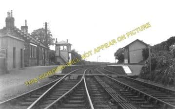 Gatehouse of Fleet Railway Station Photo. Parton - Creetown. Palnure Line. (1)