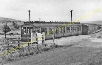 Gatehouse of Fleet Railway Station Photo. Parton - Creetown. Palnure Line. (2)