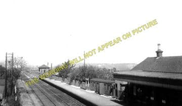 Gavell Railway Station Photo. Kilsyth to Kirkintilloch & Torrance Lines. (1)