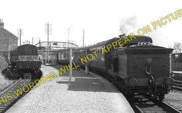 Georgemas Jct. Railway Station Photo. Bower to Thurso and Halkirk Lines. (1)..