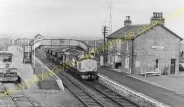 Georgemas Jct. Railway Station Photo. Bower to Thurso and Halkirk Lines. (16)