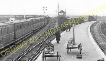 Georgemas Jct. Railway Station Photo. Bower to Thurso and Halkirk Lines. (2)