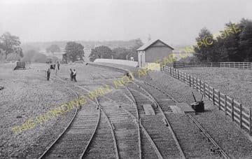 Gifford Railway Station Photo. Humbie, Saltoun, Pencaitland & Ormiston Line. (3)