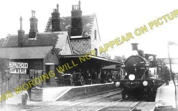 Gillingham Railway Station Photo. Templecombe - Semley. Salisbury Line. (2)