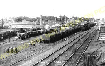 Gillingham Railway Station Photo. Templecombe - Semley. Salisbury Line. (3)
