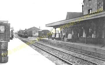 Gillingham Railway Station Photo. Templecombe - Semley. Salisbury Line. (4)