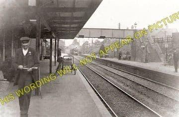 Gillingham Railway Station Photo. Templecombe - Semley. Salisbury Line. (5)