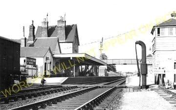 Gillingham Railway Station Photo. Templecombe - Semley. Salisbury Line. (6)