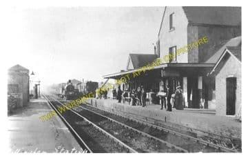Gillingham Railway Station Photo. Templecombe - Semley. Salisbury Line. (7)