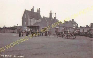 Gillingham Railway Station Photo. Templecombe - Semley. Salisbury Line. (8)