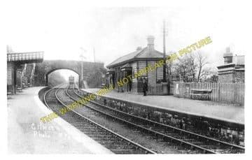 Gilwern Railway Station Photo. Govilon - Clydach. Abergavenny to Brynmawr. (2).