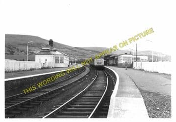 Girvan Railway Station Photo. Pinmore to Killochan and Turnberry Lines. GSWR (3)