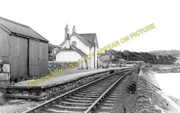 Glan Conway Railway Station Photo. Llandudno - Tal-y-Cafn. Blaenau Line. (2)