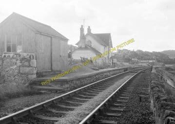 Glan Conway Railway Station Photo. Llandudno - Tal-y-Cafn. Blaenau Line. (7)