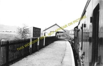 Glandyfi Railway Station Photo. Borth - Dovey Junction. Machynlleth Line. (4)
