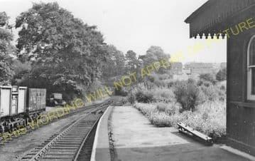 Glenfield Railway Station Photo. Leicester - Desford. Midland Railway. (4).