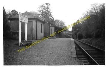 Glenside Railway Station Photo. Maidens - Knoweside. Girvan to Ayr Line, (1)