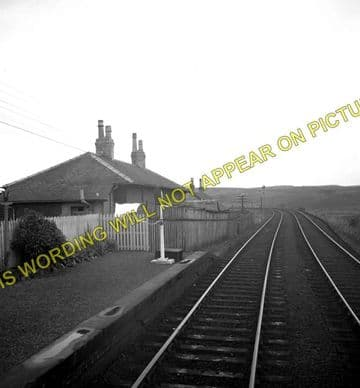 Glenwhilly Railway Station Photo. New Luce - Barrhill. Dunragit to Girvan. (1)