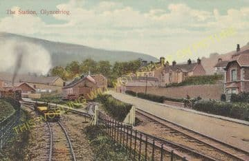 Glynceiriog Railway Station Photo. Chirk Line. Glyn Valley Railway. (13)