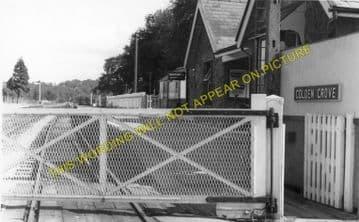 Golden Grove Railway Station Photo. Llandilo Bridge - Drysllwyn. (1)
