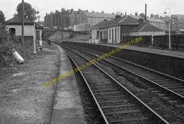 Gorgie East Railway Station Photo. Edinburgh - Craiglockhart. NBR. (6)