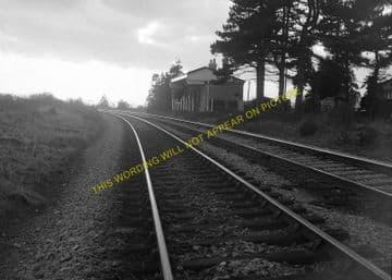 Gotherington Railway Station Photo. Bishop's Cleeve - Gretton. GWR. (4)
