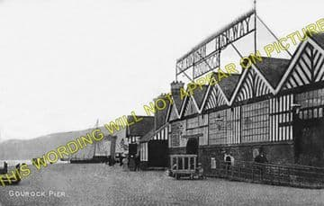 Gourock Railway Station Photo. Greenock and Port Glasgow Line. Caledonian. (3)
