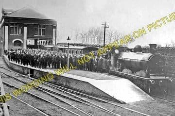 Granton Gas Works Railway Station Photo. Edinburgh Line. Caledonian Railway. (1)