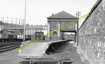 Granton Gas Works Railway Station Photo. Edinburgh Line. Caledonian Railway. (2).