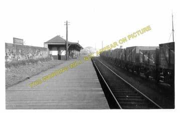 Granton Railway Station Photo. Trinity, Powderhall and Edinburgh Line. NBR. (1)