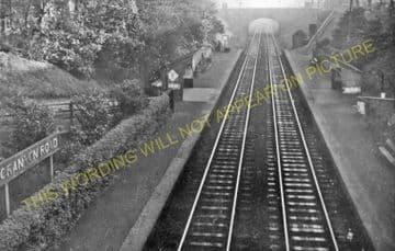 Granton Road Railway Station Photo. Edinburgh - Leith. Caledonian Railway. (1).