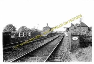 Great Dalby Railway Station Photo. Melton Mowbray - John o'Gaunt. (1).