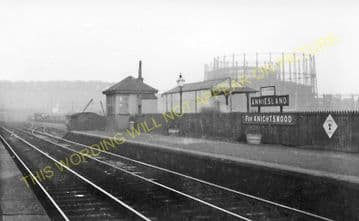 Great Western Road Railway Station Photo. Glasgow to Maryhill and Westerton. (1)