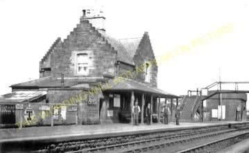 Gretna Railway Station Photo. Floiston - Kirkpatrick. Caledonian Railway. (2)