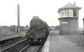 Gretna Railway Station Photo. Floiston - Kirkpatrick. Caledonian Railway. (3).