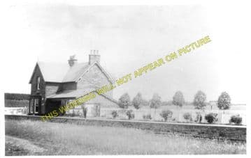Gretna Railway Station Photo. Longtown Line. North British Railway. (1).