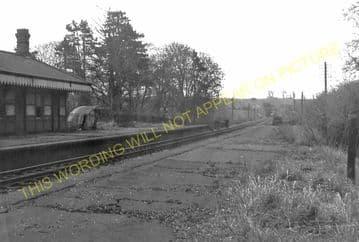 Grimston Railway Station Photo. Melton Mowbary - Old Dalby. Nottingham Line (12)