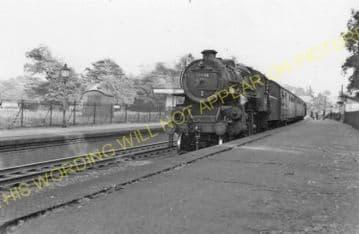 Grimston Railway Station Photo. Melton Mowbary - Old Dalby. Nottingham Line (13)
