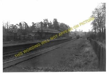Grimston Railway Station Photo. Melton Mowbary - Old Dalby. Nottingham Line (6)