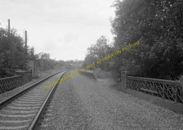 Grimston Railway Station Photo. Melton Mowbary - Old Dalby. Nottingham Line (8)