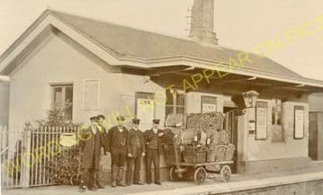 Grimstone & Frampton Railway Station Photo. Dorchester - Maiden Newton. (13)