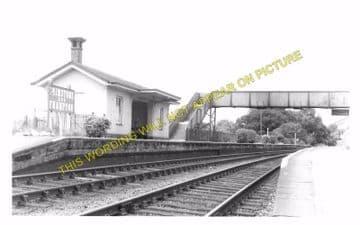 Grimstone & Frampton Railway Station Photo. Dorchester - Maiden Newton. (4)
