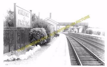Grimstone & Frampton Railway Station Photo. Dorchester - Maiden Newton. (7)