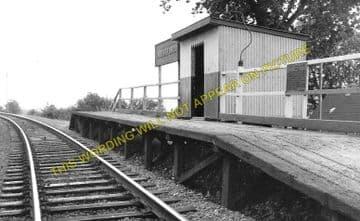 Groesffordd Railway Station Photo. Brecon - Talyllyn Jct. Brecon & Merthyr. (1)..